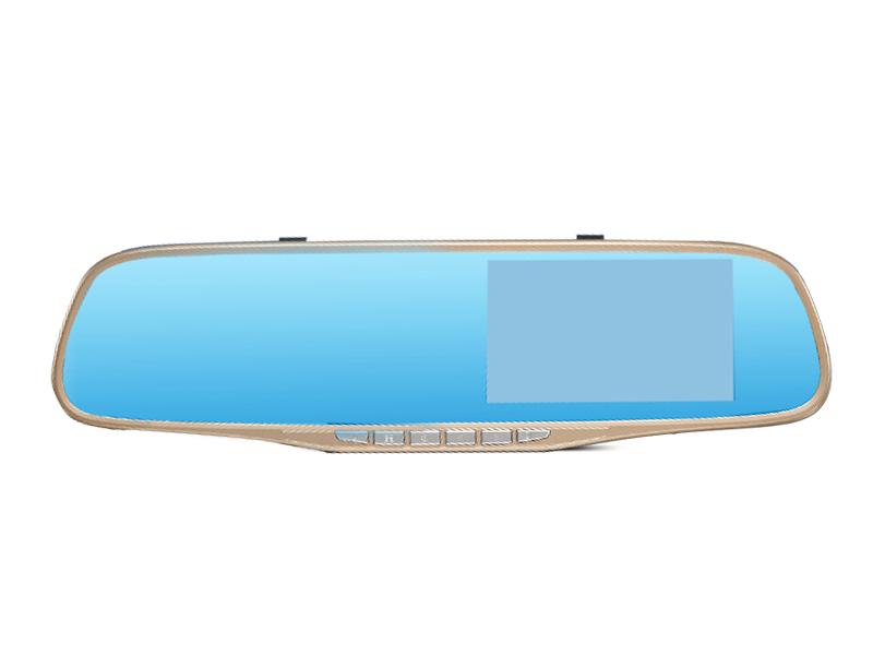 微单级镜头 高清夜视后视镜行车记录仪E96
