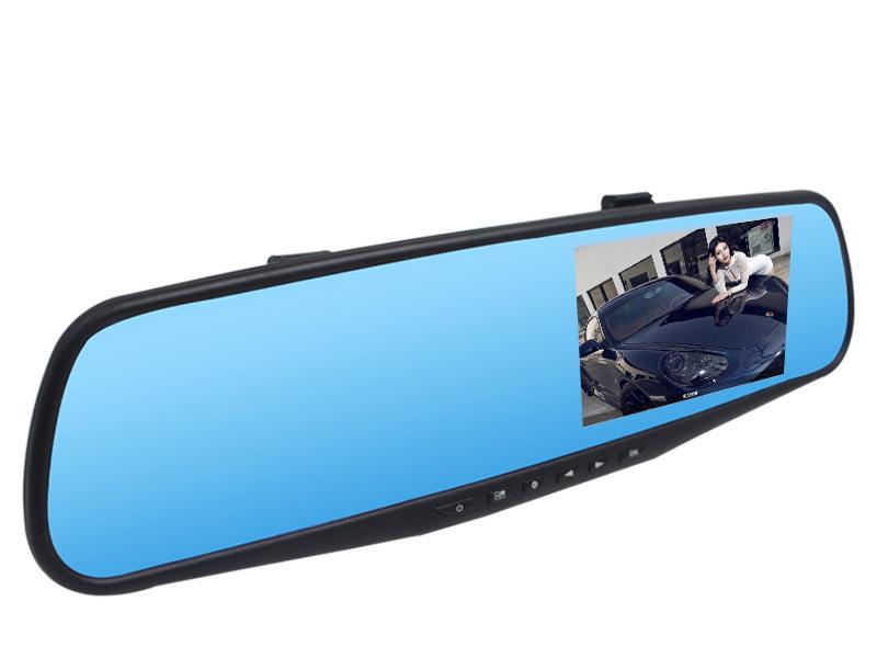 现代后视镜行车记录仪E86
